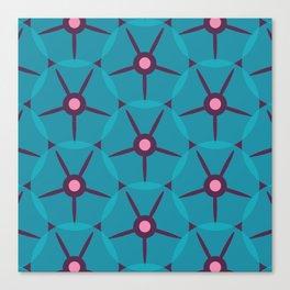 MCM Petunia Blue Canvas Print