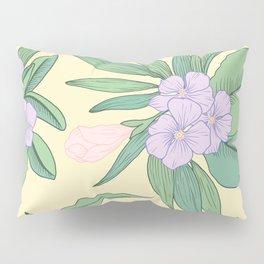 Jungle Daydream Purple Floral Print Pillow Sham