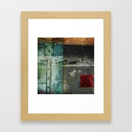 Everything is not okay Framed Art Print