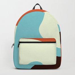 Retro mid century modern Backpack