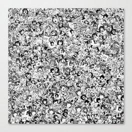 Ahegao Canvas Print