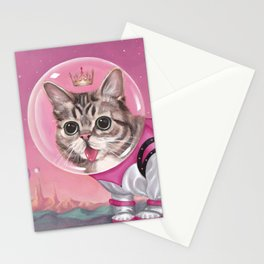 Supersonic Space Princess Stationery Cards