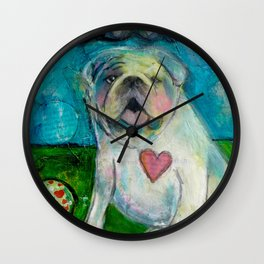 LoveABull Wall Clock