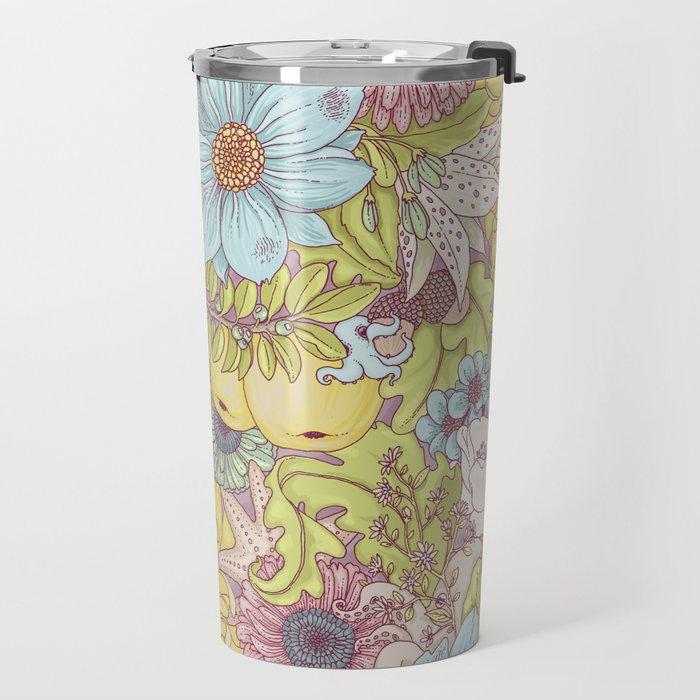 the wild side - summer tones Travel Mug