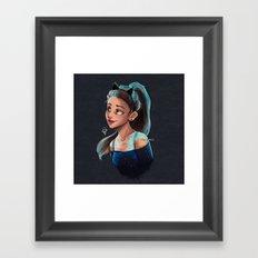 Love Me Harder Framed Art Print