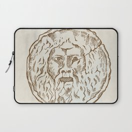 the mouth of truth Laptop Sleeve