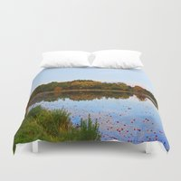 weed Duvet Covers featuring Weed Orchard by NaturallyJess