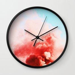 Candy Smoke #society6 #decor #buyart Wall Clock
