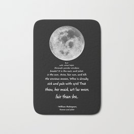 Moon Bridge Shakespeare Bath Mat