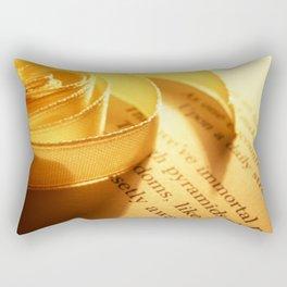 Words number 3 Rectangular Pillow