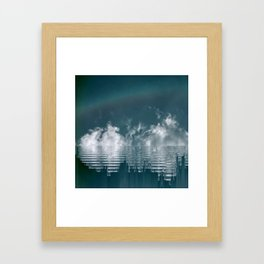 Icing Clouds Framed Art Print