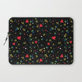 Rooster of Barcelos Just Pattern Laptop Sleeve