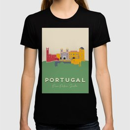 Pena Palace, Sintra, Portugal Travel Poster T-shirt