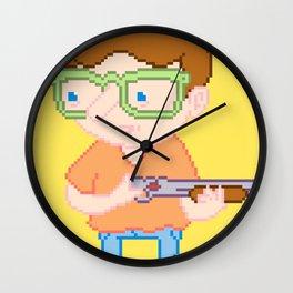 I call shotgun! Wall Clock