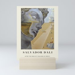 """Poster-Salvador Dali-After the head of """"Giuliano di Medici"""". Mini Art Print"""
