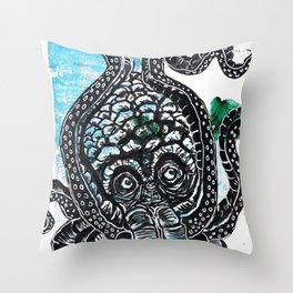 Seabeast! Throw Pillow