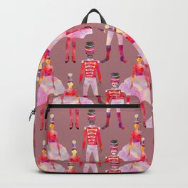 Nutcracker Ballet - Light Pink Gray Backpack