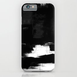 Black white theme #15a iPhone Case