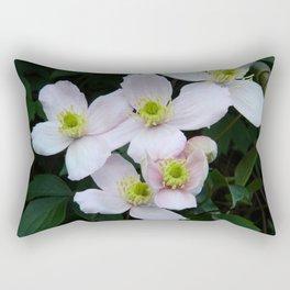 Clemantis Montana I1 Rectangular Pillow