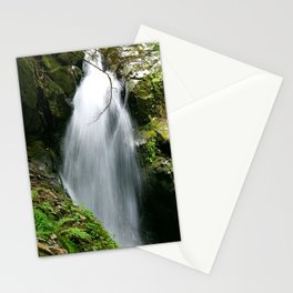 The Relaxing Effects of a Waterfall Stationery Cards