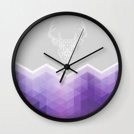 HELLO MY DEER Wall Clock