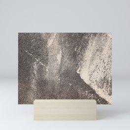 Sandpaper Attrition Rubbing Texture Mini Art Print