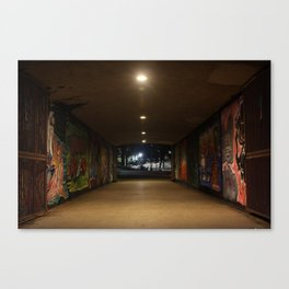 Graffiti Passage Canvas Print