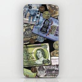 Birthday Money iPhone Skin