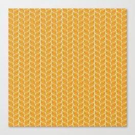 Leaf Wheaten Canvas Print