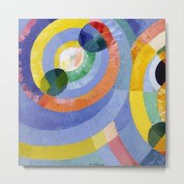 """Robert Delaunay """"Circular Forms"""" (full) Metal Print"""