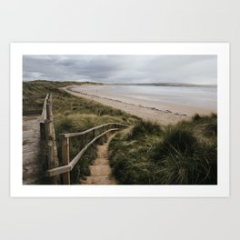 A day at the beach - Landscape and Nature Photography Art Print