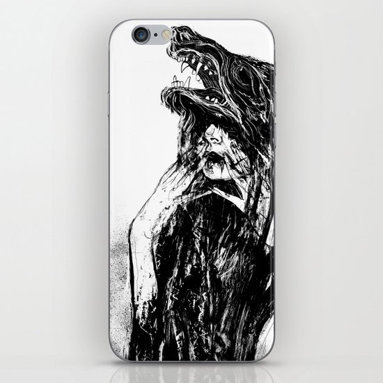 The Beast Within iPhone & iPod Skin