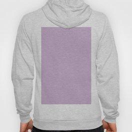 Mauve Purple Solid Color Hoody