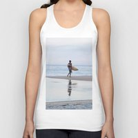 surfer Tank Tops featuring Surfer by Love the Shoot
