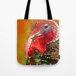 Thanksgiving Turkey, Turkey Painting, Turkey Art, Thanksgiving Decor, Turkey Animal, Turkey Art, Tote Bag