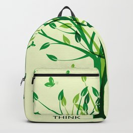 Think green! Backpack