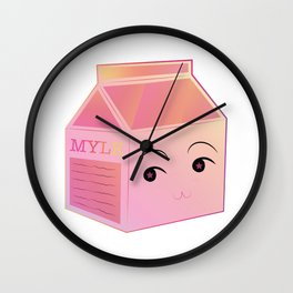 P!NK Mylk Wall Clock