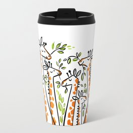 Giraffe Banquet Travel Mug