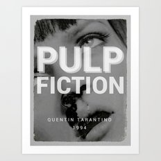 Pulp Fiction | Quentin Tarantino Art Print