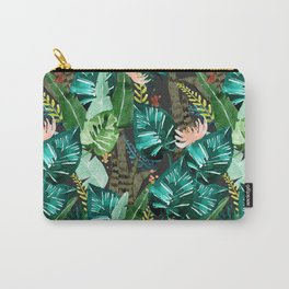 Tropical Dark Carry-All Pouch