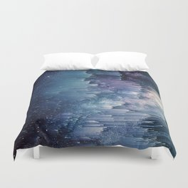 Iced Galaxy Duvet Cover