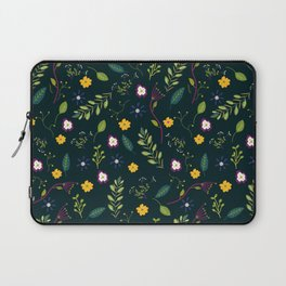Floral Greenery Pattern I Laptop Sleeve