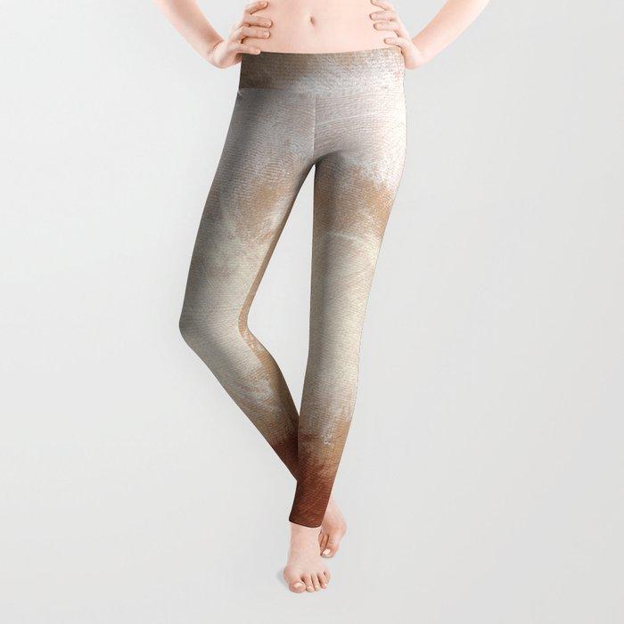 Rothko Inspired Spiced Berry Canyon Dusk 001 Mixed Stripe Modern Art Comforter Pillow #society6 Leggings