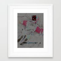 barbie Framed Art Prints featuring barbie by christian acuna