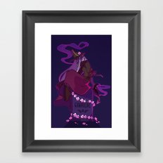 Gunhilde Framed Art Print
