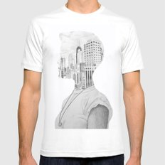 Silhouette Mens Fitted Tee MEDIUM White