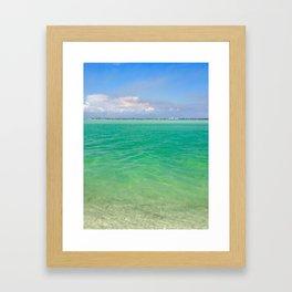 Tranquility: Caladesi Island, FL Framed Art Print