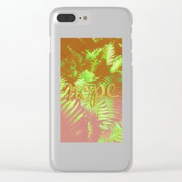 No just nope Clear iPhone Case
