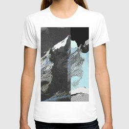 Twin peaks_ charcoal T-shirt