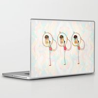 dancer Laptop & iPad Skins featuring Dancer by Mimi